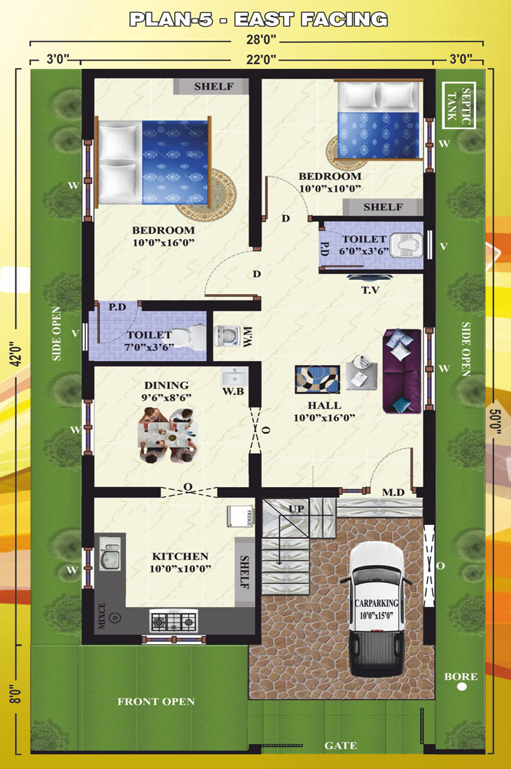 100 Plan 5 100 House Plans With Big Bedrooms 5
